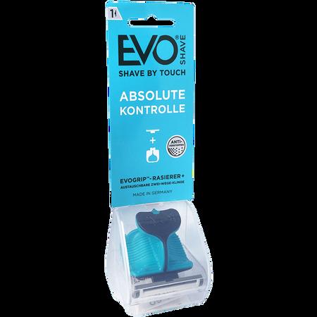 EvoShave Men's Starter Pack Aqua Blue