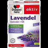 Bild: DOPPELHERZ Lavendel Extrakt + Öl