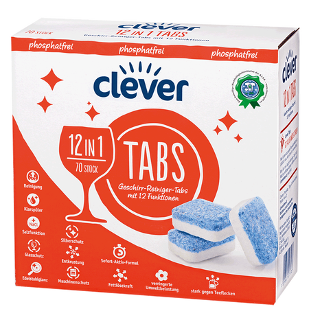 clever 12 in 1 Tabs