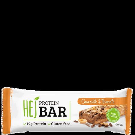 HEJ Protein Bar Chocolate & Peannuts