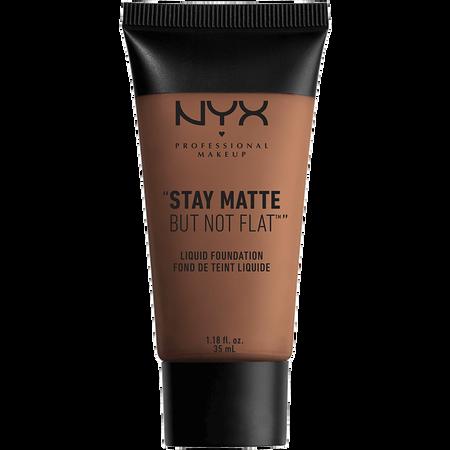 NYX Professional Make-up Stay Matte But Not Flat Liquid Foundation