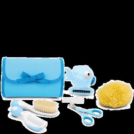 Chicco Kulturtasche mit Inhalt hellblau
