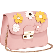 Bild: LOOK BY BIPA Crossbody Bag Flower rosa