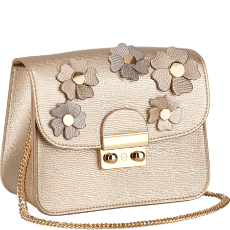 LOOK BY BIPA Crossbody Bag Flower gold