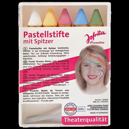 Jofrika Pastellstifte mit Spitzer
