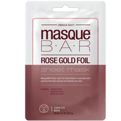 Bild: masque BAR Rose Gold Foil Sheet Mask