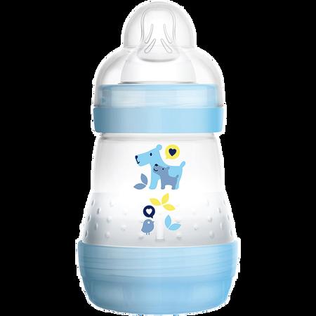 MAM Easy Start Anti-Colic 160ml Time for Love - Babyflasche Blau