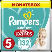 Bild: Pampers Baby Dry Pants Gr.5 Junior 12-17kg MonatsBox
