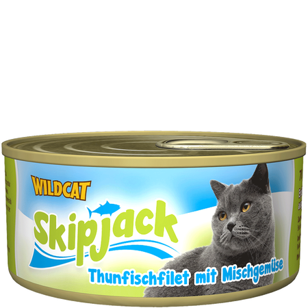 Wildcat Skipjack Thunfisch Mischgemüse
