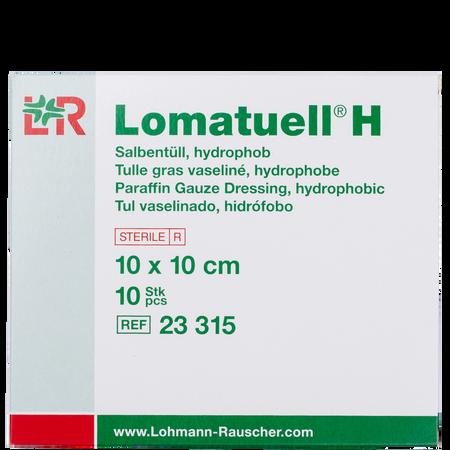 LOHMANN & RAUSCHER Lomatuell® H Salbentüll hydrophob 10 c 10 cm