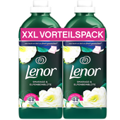 Bild: Lenor Weichspüler Smaragd & Elfenbeinblüte Duo