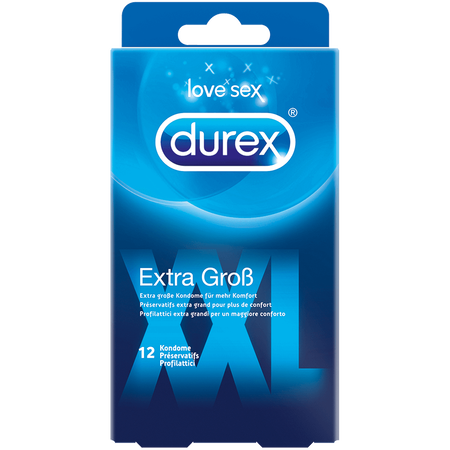 durex  XXL Extra Gross Kondome