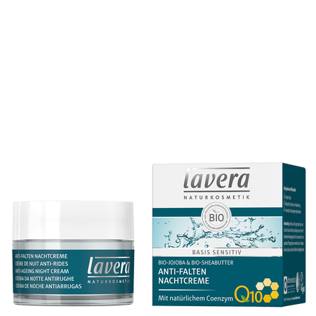 lavera Anti-Falten Nachtcreme Q10