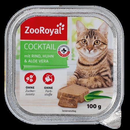 ZooRoyal Cocktail mit Rind, Huhn & Aloe Vera