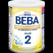 Bild: BEBA Frühgeborenennahrung Stufe 2