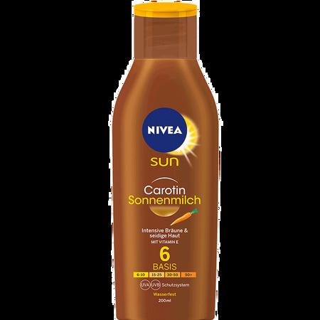 NIVEA Sun Carotin Sonnenmilch LSF 6