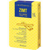 Bild: the wellness co. Zimt plus Ginseng Kapseln