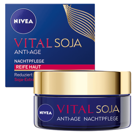 NIVEA Visage Vital Teint Optimal Soja+ Nachtpflege