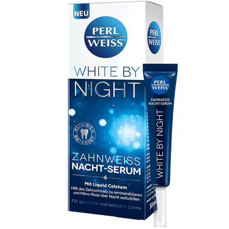 PERLWEISS White by Night Zahnweiss Nacht-Serum