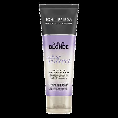 JOHN FRIEDA Sheer Blonde Colour Correct Anti-Gelbstich Spezial Shampoo