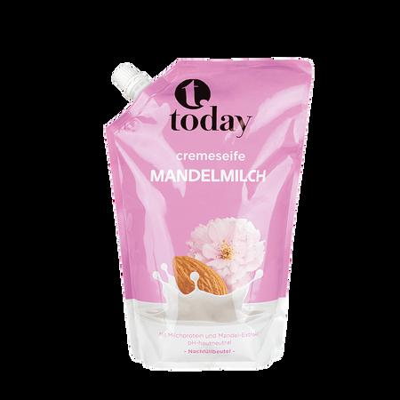 today Cremeseife Mandelmilch Nachfüllbeutel