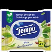 Bild: Tempo Feuchtes Toilettentücher Mein Verwöhnmoment Avocado & Shea Butter