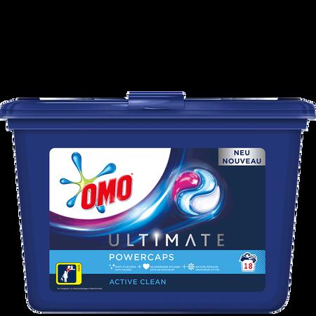 OMO Ultimate Power Caps Waschmittel Active Clean