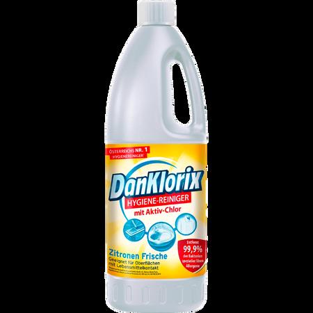 DanKlorix Hygiene-Reiniger Zitronenfrische