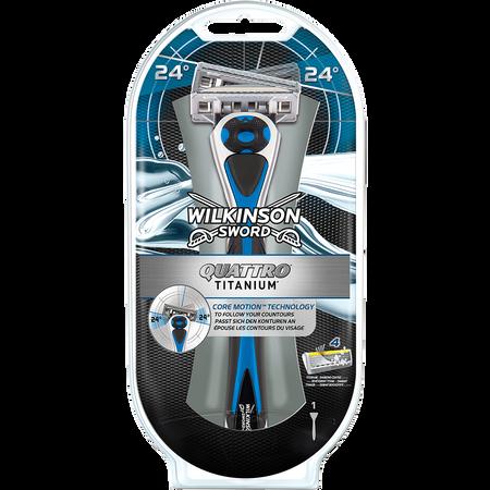Wilkinson Quattro Titanium Core Motion Rasierapparat