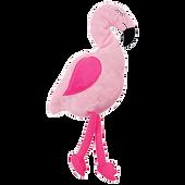 Bild: Aumüller Flamingo Pinky mit Baldrian und Dinkelpelz