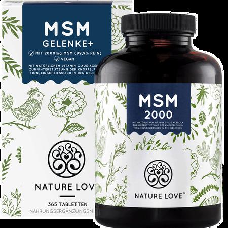 NATURE LOVE MSM Kapseln