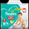 Bild: Pampers Baby-Dry Pants Gr. 4 (9-15kg) Jumbo+ Pack