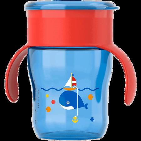 PHILIPS AVENT Trinklernbecher, 260ml, 12 Monate+, blau