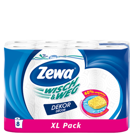 Zewa Wisch&Weg Küchenrollen XL Pack