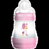 Bild: MAM Easy Start Anti-Colic 160ml Time for Love - Babyflasche Rosa