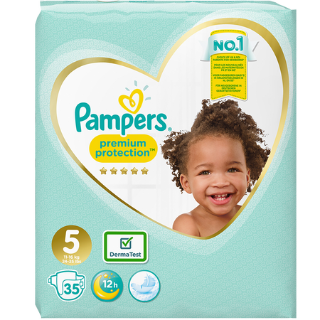 Pampers Premium Protection Gr. 5 (11-16kg) Value Pack