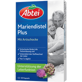 Bild: Abtei Mariendistelöl Plus mit Artischocke Kapseln