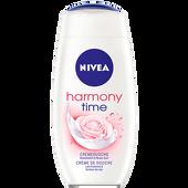 Bild: NIVEA harmony time Cremedusche