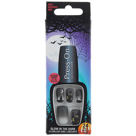 KISS Broadway Nails Press On Halloween candy apple