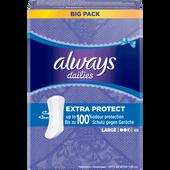 Bild: always dailies Slipeinlagen Extra Protect Large BigPack/Vorteilspack
