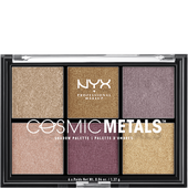 Bild: NYX Professional Make-up Cosmic Metals Eyeshadow Palette