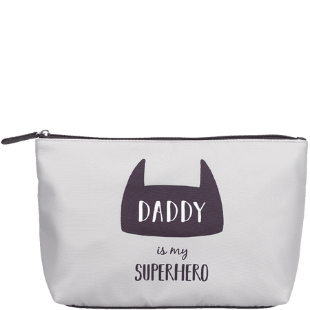 LOOK BY BIPA Kosmetiktasche 'Daddy is my Superhero'