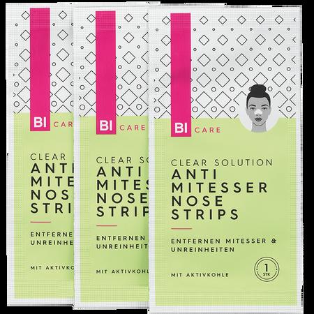 BI CARE Clear Solution Anti Mitesser Nose Strips