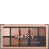 Bild: profusion cosmetics Smoky 10 Shade Multi-Finish Eyeshadow Palette