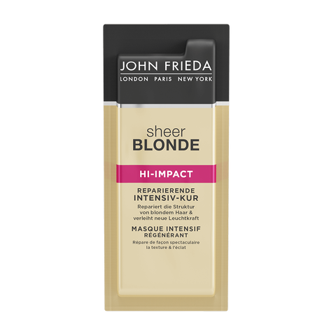 JOHN FRIEDA Sheer Blonde Hi-Impact Reparierende Intensiv-Kur