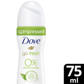 Bild: Dove compressed go fresh Deospray Gurke & grüner Tee