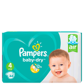 Bild: Pampers Baby-Dry Gr. 4 (9-14kg) Value Pack