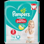Bild: Pampers Baby-Dry Pants Gr. 5 (12-17kg) Value Pack
