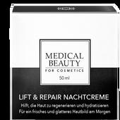 Bild: MEDICAL BEAUTY for Cosmetics Lift & Repair Nachtcreme