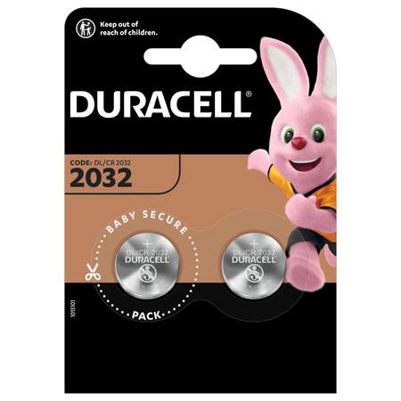 DURACELL Speciality 2032 Lithium-Knopfzellen 3 V